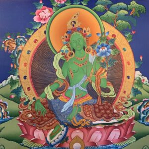 Green Tara Thanka 60*45