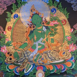 Green Tara Thanka 70*50